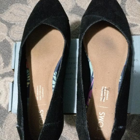 Toms Shoes | Toms Julie Flats In Black